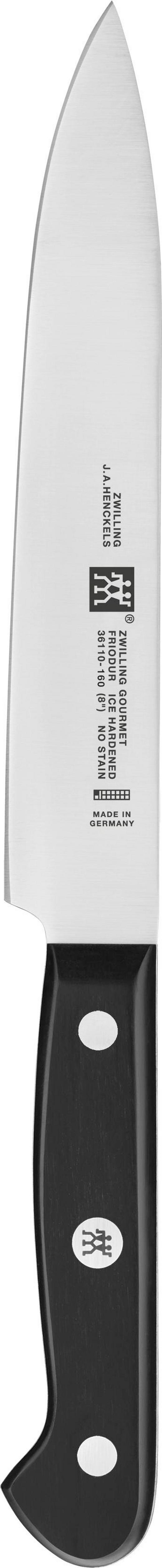 FLEISCHMESSER  16 cm - Silberfarben/Schwarz, Basics, Kunststoff/Metall - Zwilling