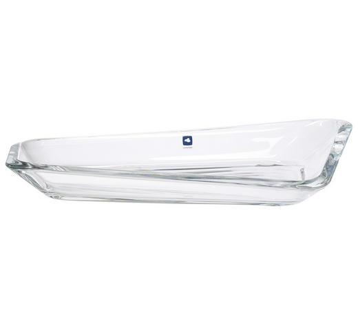 SCHALE - Transparent, Design, Glas (35,50/19,50cm) - Leonardo
