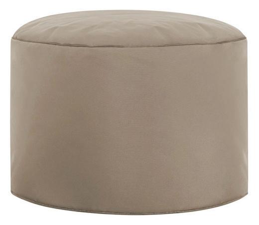 POUF Braun - Braun, Design, Textil (50/30cm) - Carryhome