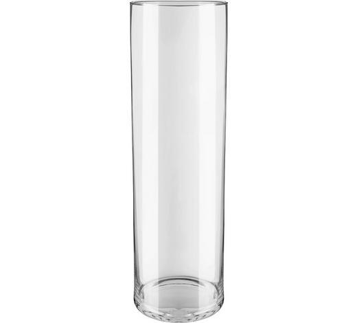 VÁZA, čiré - čiré, Basics, sklo (18/60cm) - Ambia Home