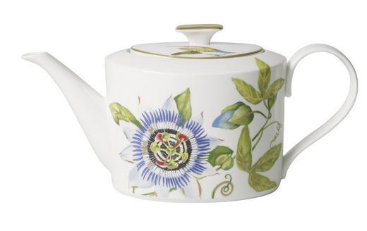 TEEKANNE - Weiß/Grün, Basics, Keramik (1,2l) - Villeroy & Boch