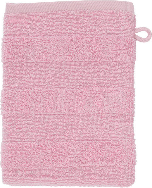 WASCHHANDSCHUH  Rosa - Rosa, Basics, Textil (16/22cm) - Linea Natura