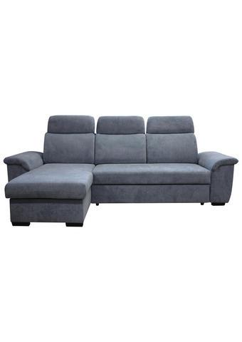 SEDACÍ SOUPRAVA, textil, modrá - modrá/černá, Moderní, textil/umělá hmota (262/177cm) - Carryhome