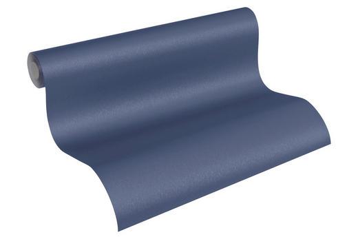 VLIESTAPETE 10,05 m - Blau/Dunkelblau, LIFESTYLE, Textil (53/1005cm)
