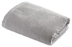 DUSCHTUCH 70/140 cm - Silberfarben, KONVENTIONELL, Textil (70/140cm) - Esposa