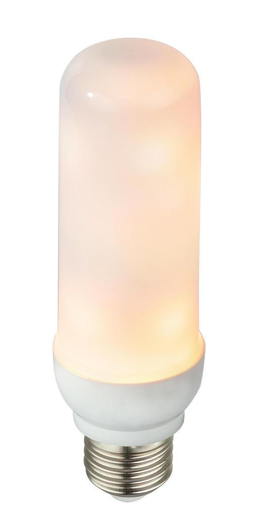 LED-LEUCHTMITTEL  3 W - Weiß, Basics, Kunststoff (4/14cm)