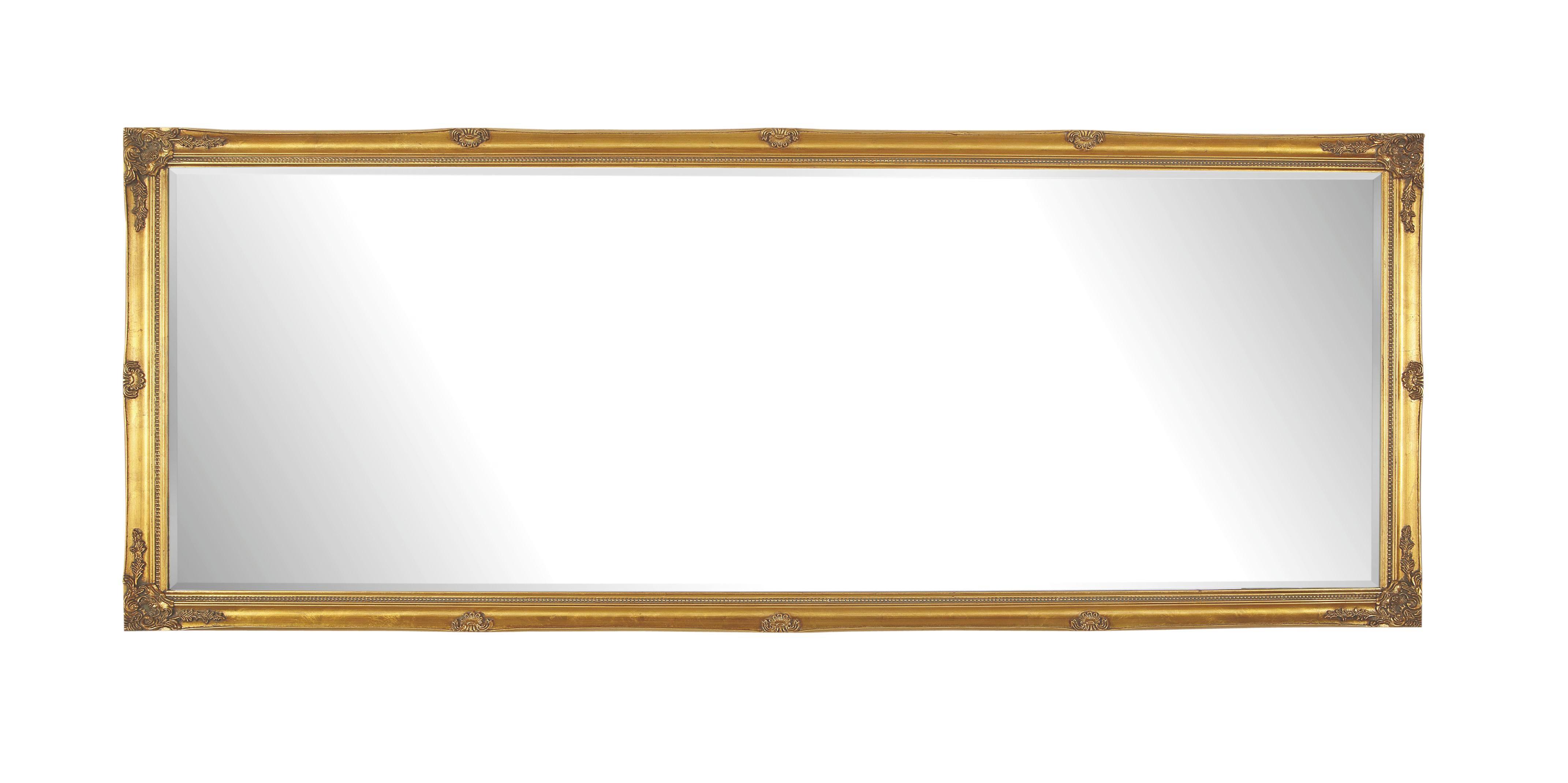 SPIEGEL Goldfarben - Goldfarben, LIFESTYLE, Holz (75/195/3,3cm) - LANDSCAPE
