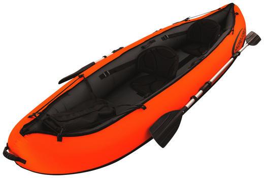 KAJAK 65052 VENTURA KAYAK - Schwarz/Orange, Basics, Kunststoff/Metall (94/330/cm) - Bestway
