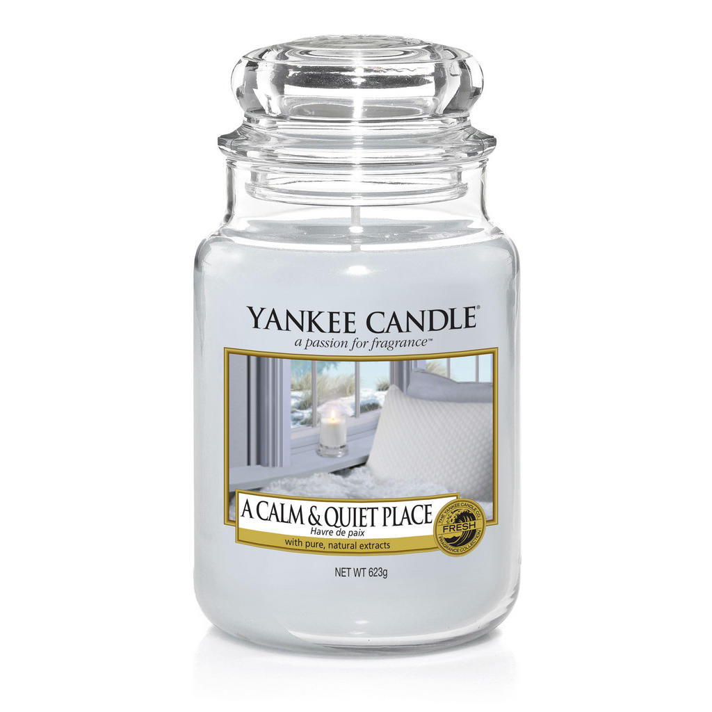Yankee Candle Duftkerze yankee candle a calm and quiet