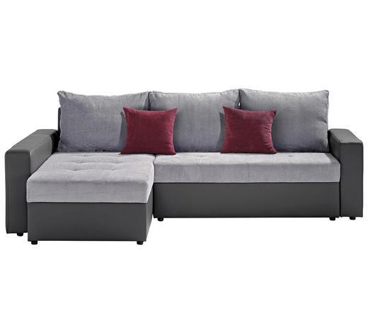 wohnlandschaft in grau g nstig online kaufen. Black Bedroom Furniture Sets. Home Design Ideas