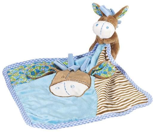 SCHMUSETUCH - Blau/Schlammfarben, Basics, Textil (25/25cm) - My Baby Lou