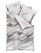 POSTELJNINA - siva, Konvencionalno, tekstil (140/200cm) - Kaeppel
