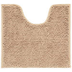 WC-Vorleger Anke - Beige, MODERN, Textil (45/50cm) - Luca Bessoni
