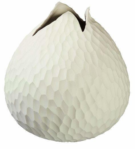 VASE - Creme, Basics, Keramik (18,5/18cm) - ASA
