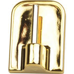 SELBSTKLEBEHAKEN  - Goldfarben, Basics, Kunststoff (1.6/2.3cm) - Homeware