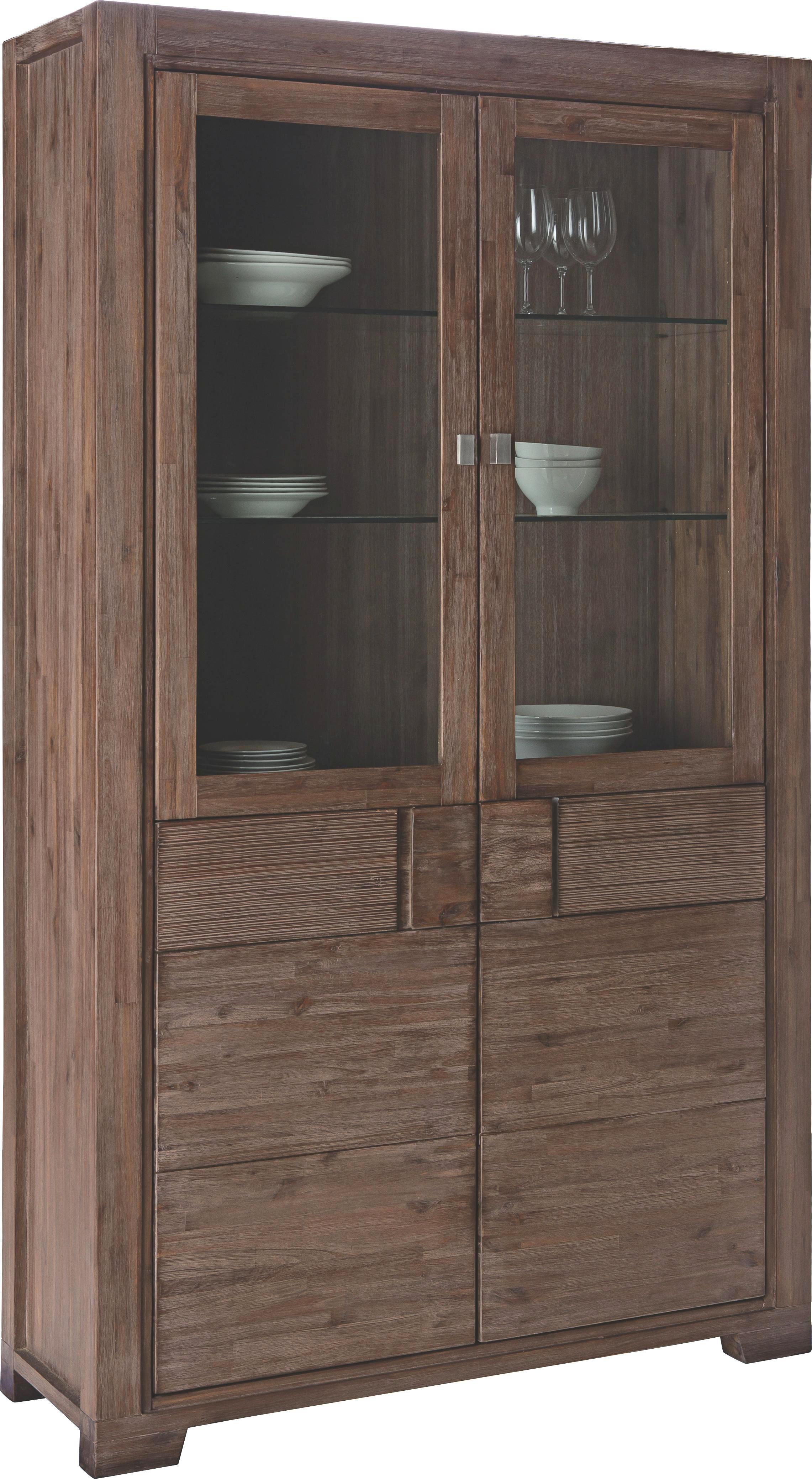 VITRINA - boje bagrema, Lifestyle, staklo/drvo (120/203,5/40cm) - LANDSCAPE