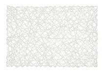 TISCHSET 30/45 cm Papier   - Weiß, Design, Papier (30/45cm) - Homeware