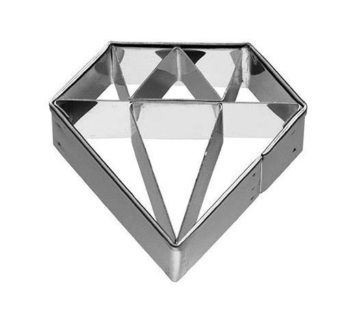 KEKSAUSSTECHFORM - Edelstahlfarben, Basics, Metall (4,5/2,5/4,5cm) - Birkmann