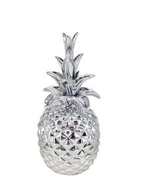 DEKORANANAS - silver, Design, keramik (12,5/25,5cm) - Ambia Home