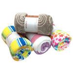 Fleecedecke Nicoletta - Multicolor, MODERN, Textil (150/200cm) - Ombra