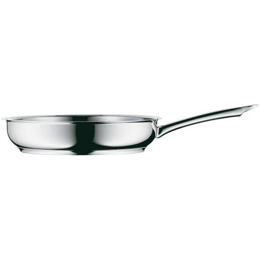 BRATPFANNE 28 cm - Edelstahlfarben, Basics, Metall (28cm) - WMF