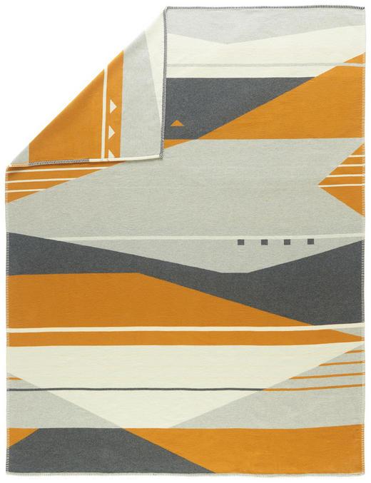 KUSCHELDECKE - Goldfarben, Design, Textil (150/200/cm) - David Fussenegger
