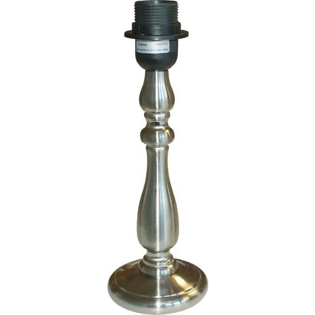 XXXL LEUCHTENFUß Grau Metall | Lampen > Lampenschirme und Füsse > Lampenfüsse | Grau | Metall | XXXL Shop