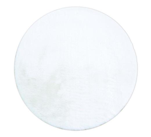 HOCHFLORTEPPICH - Weiß, KONVENTIONELL, Textil (120cm) - Novel