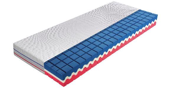 KALTSCHAUMMATRATZE 160/200 cm  - Weiß, Basics, Textil (160/200cm) - Dieter Knoll