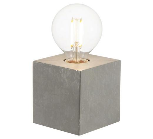 TISCHLEUCHTE - Grau, Design, Metall (10/10/10cm) - Boxxx