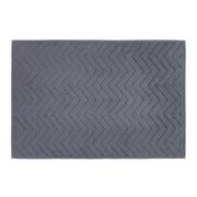 BADEMATTE  Anthrazit  50/70 cm     - Anthrazit, KONVENTIONELL, Textil (50/70cm) - Boxxx