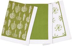 GESCHIRRTUCH-SET Olivgrün  - Olivgrün, LIFESTYLE, Textil (50/70cm) - Esposa
