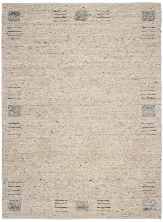HANDWEBTEPPICH  130/190 cm  Beige, Grau - Beige/Grau, Basics, Textil (130/190cm) - Linea Natura