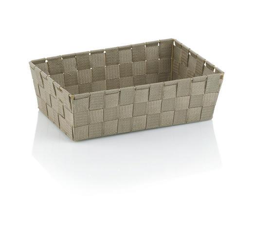 KORB  - Taupe, Basics, Textil (29,5/20,5/8,5cm) - Kela