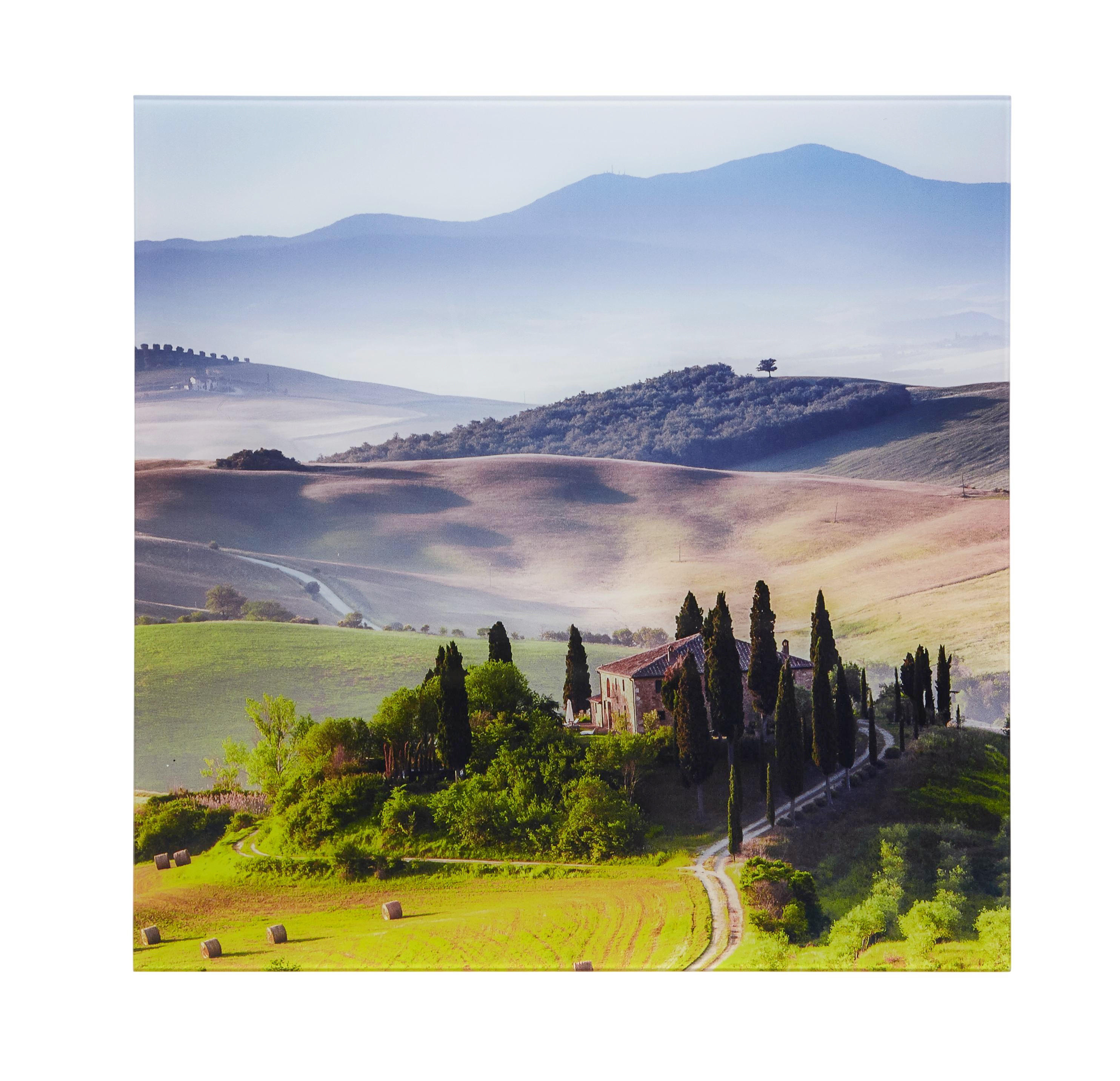 GLASBILD - Multicolor, Basics, Glas (50/50/2cm) - EUROGRAPHICS