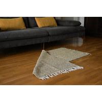 ROČNO TKANA PREPROGA - med, Basics, tekstil (120/180cm)