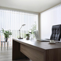 Vertikallamellen 12.7/250 cm - Weiß, Basics, Textil (12.7/250cm) - Homeware