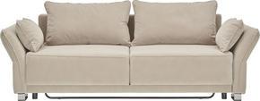 SOFFA - beige, Design, textil (270/80/100cm) - Premium Living