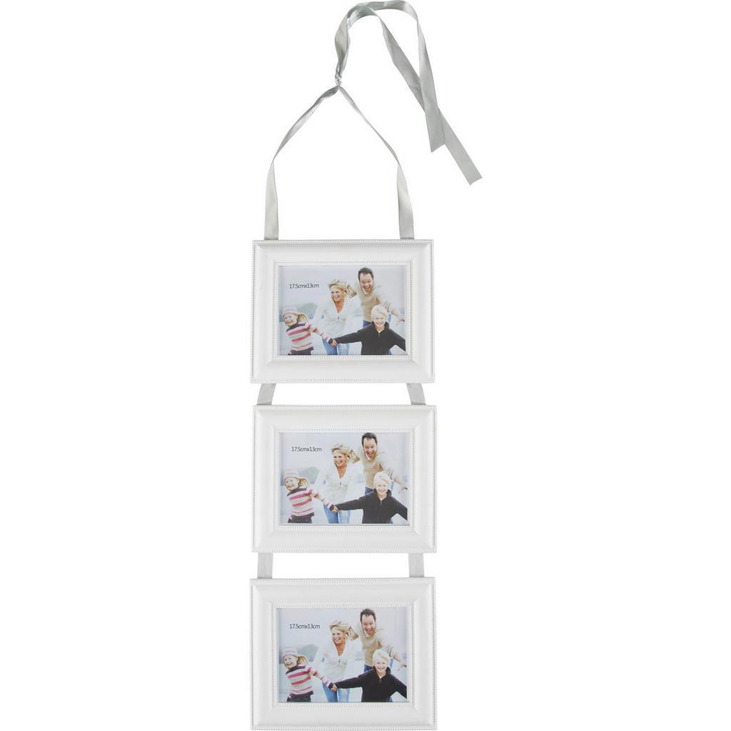 Image of Ambia Home Fotoseil in weiss , Kb98-15120305 , Glas, Holzwerkstoff , Recyclingholz , 23.5x76 cm , lackiert,klar,Nachbildung , 0031690222