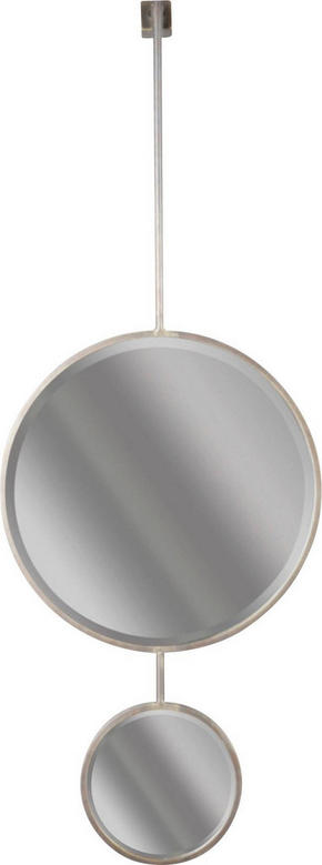 SPEGEL - svart, Design, metall/glas (46/112/10cm) - Ambia Home