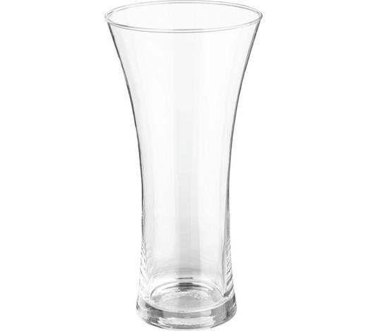 VASE 25 cm - Klar, Basics, Glas (12,3/25cm) - Ambia Home