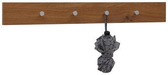 GARDEROBENLEISTE Eichefarben  - Eichefarben, Design, Metall (98/12/5,5cm) - Dieter Knoll