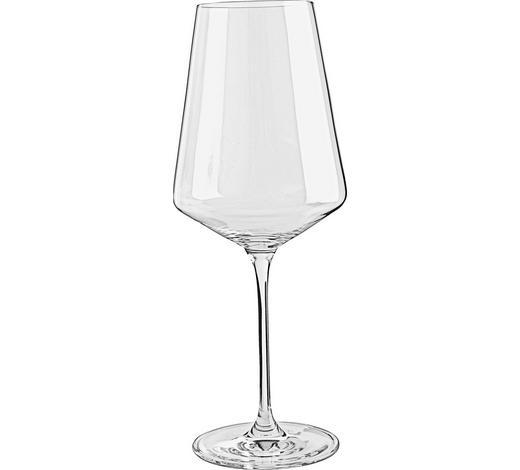 KOZAREC ZA BELO VINO PUCCINI - prosojna, Basics, steklo (9,50/24,00/9,50cm) - Leonardo