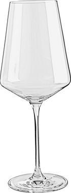 WEIßWEINGLAS - Transparent, Design, Glas (9,50/24,00/9,50cm) - LEONARDO