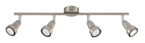 LED-STRAHLER   - Nickelfarben, KONVENTIONELL, Metall (60/8cm) - Boxxx