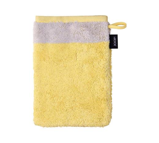 WASCHHANDSCHUH - Gelb/Grau, Design, Textil (16/22cm) - Joop!