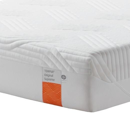 MATRATZE ORIGINAL SUPREME 100/200 cm  - Weiß, Basics, Textil (100/200cm) - Tempur
