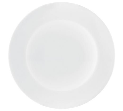 FRÜHSTÜCKSTELLER 23 cm - Weiß, Design, Keramik (23cm) - Seltmann Weiden