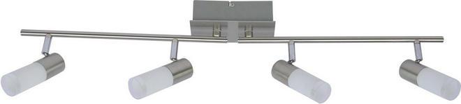 LED-STRAHLER - Chromfarben, MODERN, Glas/Metall (83,5/15,5/8cm) - BOXXX