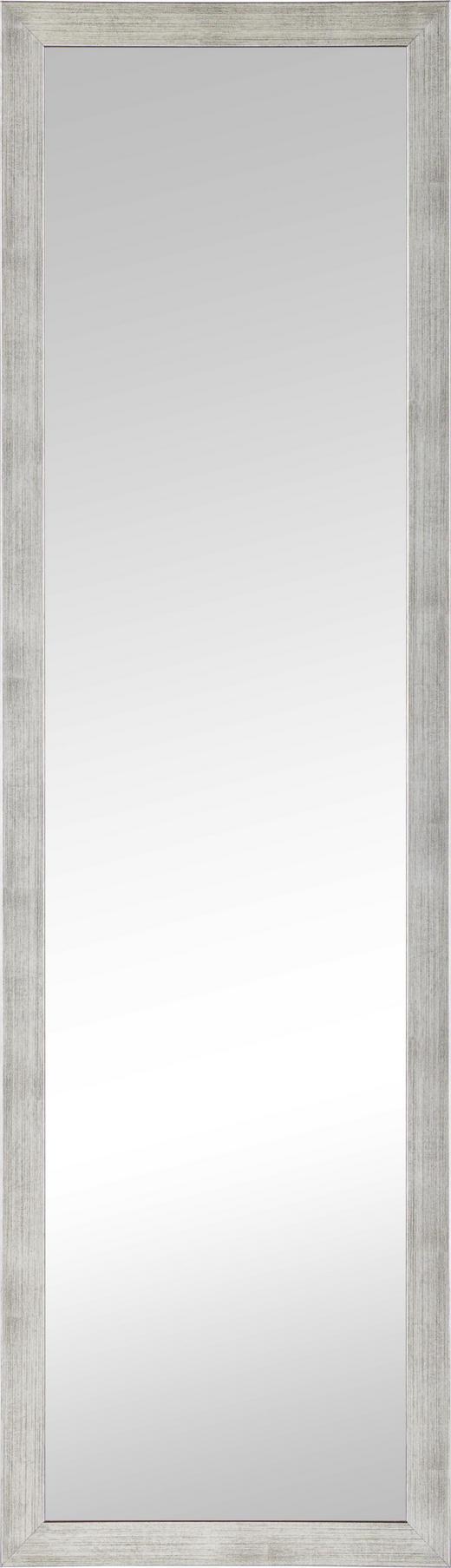 WANDSPIEGEL - Silberfarben, Design, Glas/Holzwerkstoff (36/126cm)